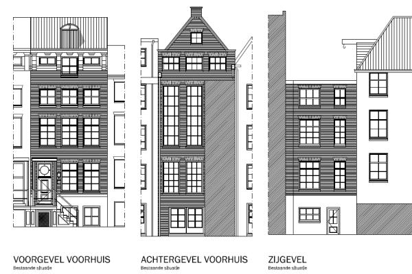 Aanvraag omgevingsvergunning veranderen kozijnen Amsterdam